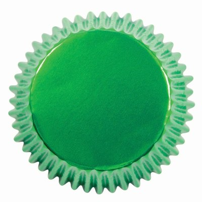 PME Baking Cups Metallic Green pk/30