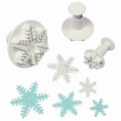 PME Snowflake Plunger Cutter set/3