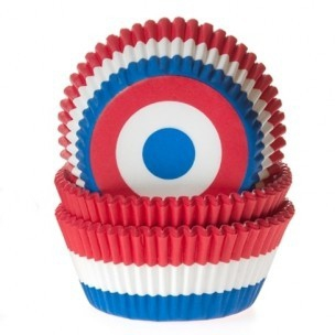House of Marie Baking cups Nederlandse vlag - pk/50