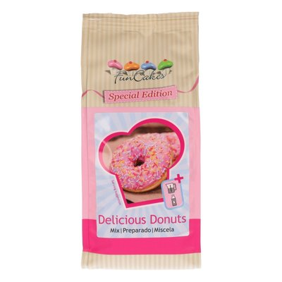 FunCakes Special Edition Mix voor Delicious Donuts 500g